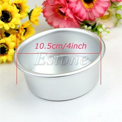 "New Cake Baking BakeWare Tin Pan Box Loose Bottom Mould Mold 2""/4""/5""/6"""