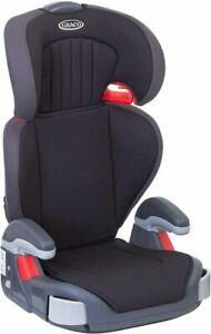 Graco Junior Maxi Lightweight 4-12 Years Kids High Back Booster Car Seat - Black (8E296BLCEU)