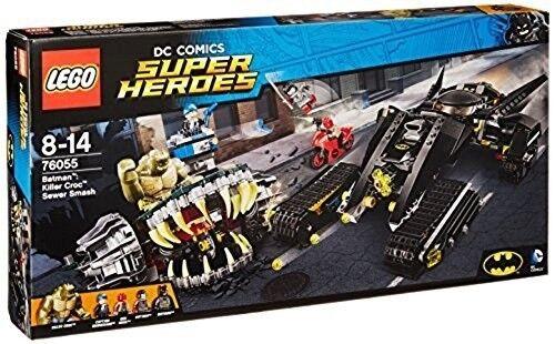 NEW Lego DC SUPER HEROES (76055) Batman    Killer Croc Sewer Smash - 759 pcs 5e15cd