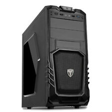 AvP STORM 27 GAMING PC COMPUTER TOWER CASE - FRONT USB 3.0 & HD AUDIO MIC PORTS