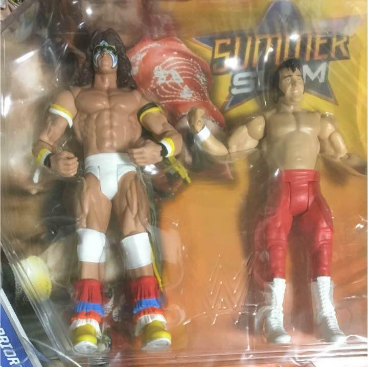 WWE Summer Slam Ultimate Warrior HONKY TONKuomo azione cifra Sealed Tracre