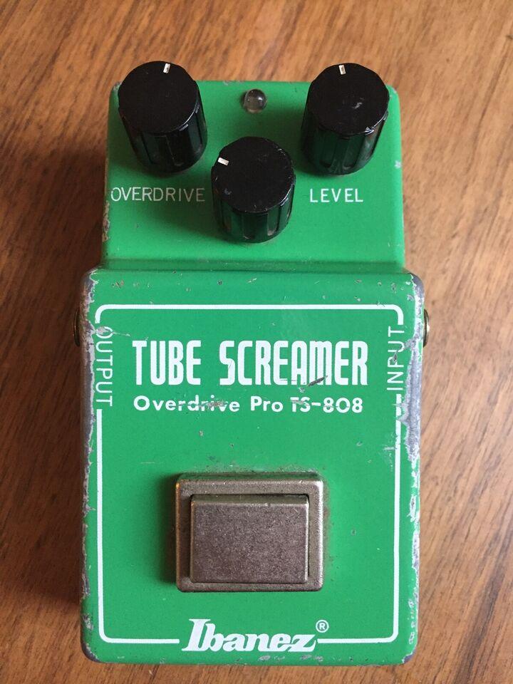 Tubescreamer, Ibanez TS808 4558D '81 (C)
