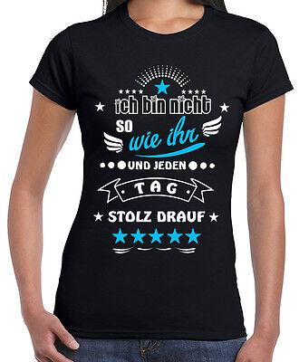 Fun Shirt Ich bin nicht so wie ihr und jeden Tag stolz drauf Spruch Humor Spaß