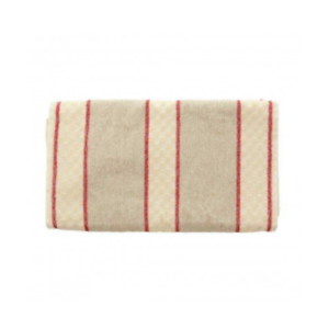 Kitchen Roller Towel 100/% Cotton Traditional Terry Green//Red Stripe