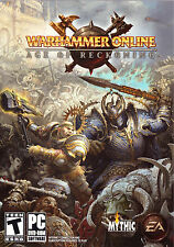 Warhammer Online Age of Reckoning ( 2008 PC Game ) 2 DVD-ROM's teens adults