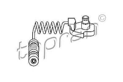 BOSCH Front Brake Pad Wear Sensor LHD Fits MERCEDES W163 1998-2005