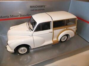 Minichamps-Morris-Minor-1000-Traveller-woody-in-1-18-scale