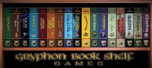 FULL COLLECTION OF GRYPHON BOOKSHELF GAMES - INCLUDES ALL 17 GAMES