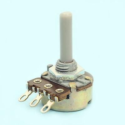 Potentiomètre 2K2 à piste ouverte inter PIHER AXE métal 6mm avec méplat