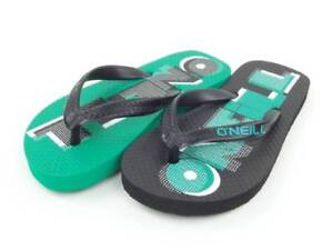 Boys' Shoes O'neill Tongs Sandales Écriture Noir/vert Eva Inscription Elegant Appearance