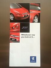 Peugeot 307 SP Genuine Accessories Brochure / leaflet - FREE p&p