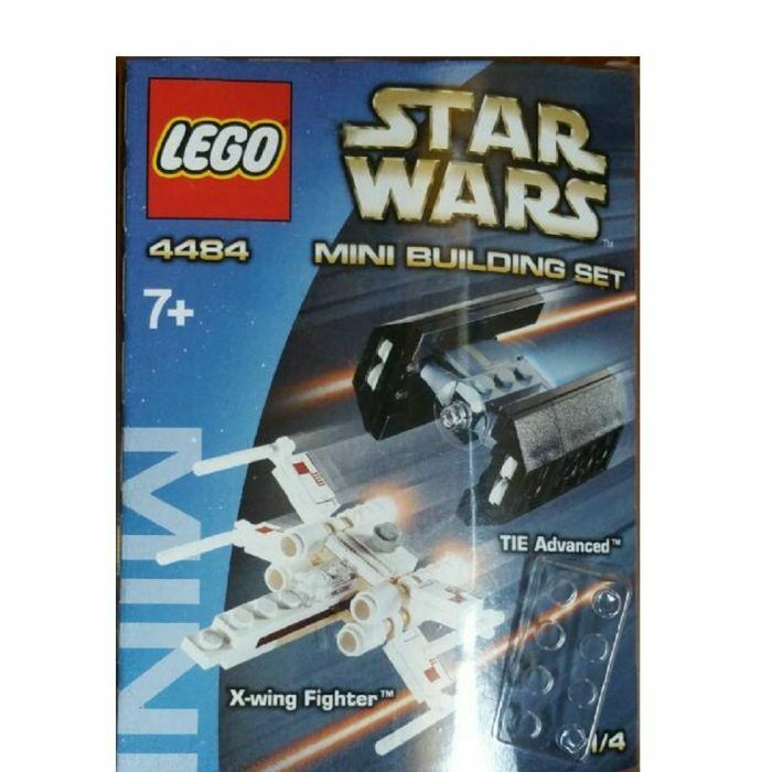 LEGO Star Wars 4484 Mini X Wing Fighter Contains 76 Pieces Rare
