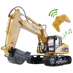 Radio Remote Control Excavator Rc Toy Construction Equipment
