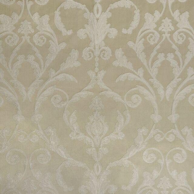 Damask Upholstery Fabric,Ivory color Traditional Fabric, 56