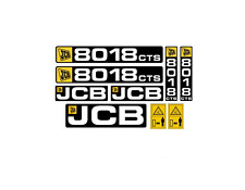 Sticker, aufkleber - JCB CTS 8008 8010 8014 8016 8018 8020