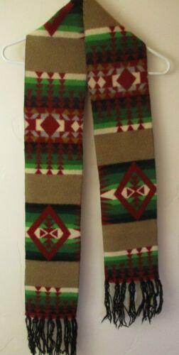 Pendleton Wool Native Pattern scarf