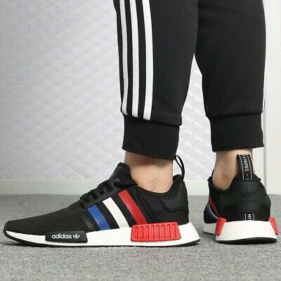"buy online ddc3f b98ac adidas Originals NMD R1 ""Tri-Color"" Men's Shoes Lifestyle Comfy Sneakers 
