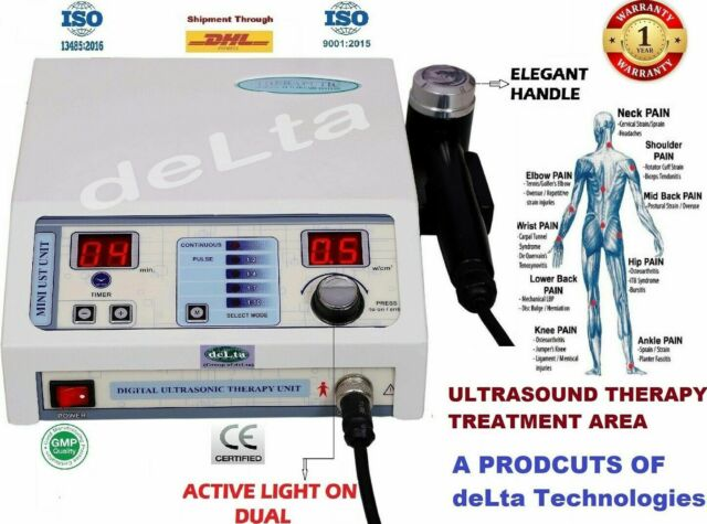 Active Light Best Delta 1 Mhz Stress Relief Ultrasonic Therapy Compact Model @#%