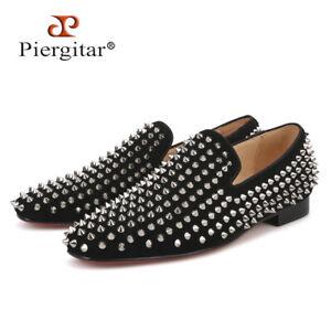 Men RESSOROTH Black Velvet Loafers