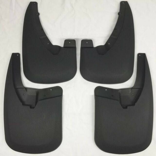 Husky Liners 57641 Dually Rear Mud Flaps Black For 2011-16 Ford F-350 Super Duty