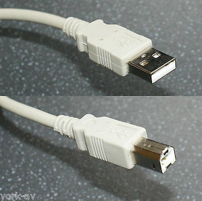 Short USB / USB2.0 A to B Cable / Lead, A-male to B-male, 0.2M (20cm)