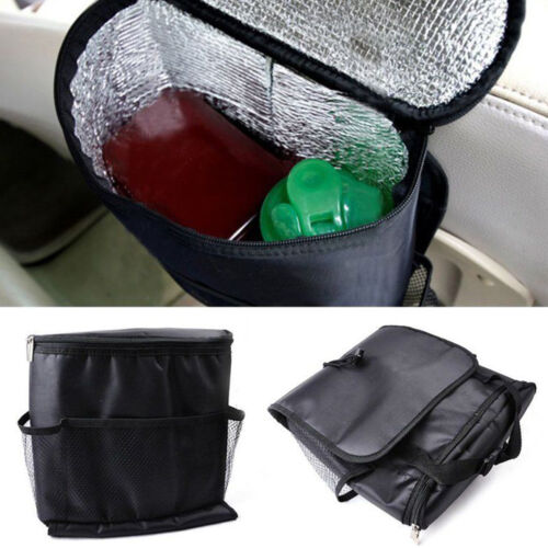 Car Auto Seat Back Protector Cover For Children Kick Mat Mud Clean  Black up