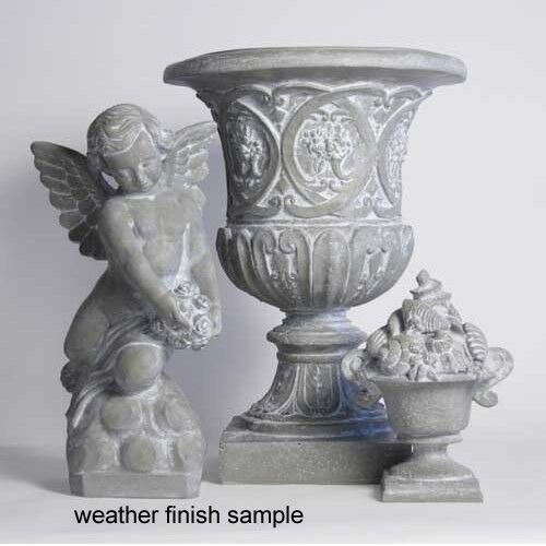 Meditation Cherub Sitting Outdoor Garden Statue by Orlandi Statuary FS91B