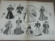L' ART ET LA MODE - 1893 - No 45 - ILLUSTREE - UN MARIAGE PARISIEN