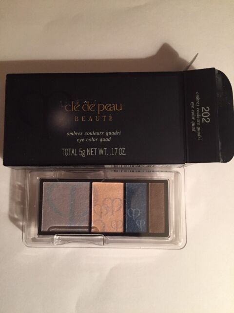 Cle de Peau Beaute Eye Color Quad 202 (refill) BNIB 100 % Authentic