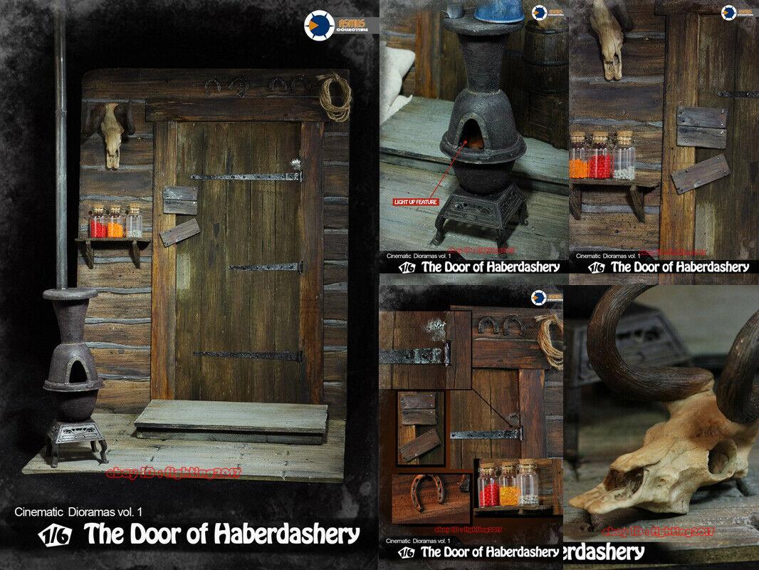 1 6 Asmus Juguetes cinematográfica Diorama CD001 la puerta de mercería para 12  figura