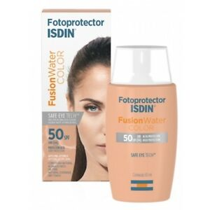 Fusion Water Color Isdin Protector Solar Con Color Youtube