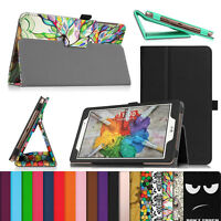 Lg Pad X 8.0 Folio Case Stand Cover T-mobile V521 / At&t V520 Pad Iii X8.0