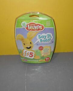 Leapfrog Little Leaps Say It Baby Leapfrog