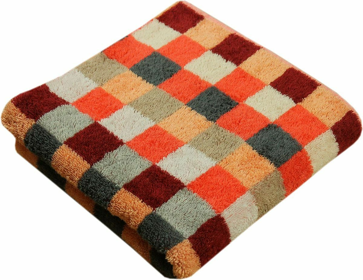 Cawö Handtücher Unique Karo Orange Handtuch Duschtuch Gästetuch Waschhandschuh     | Günstige Preise
