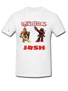 boy/'s birthday t-shirt. ROBLOX  Birthday T-shirt-Personalised girl/'s
