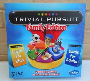 Hasbro-Trivial-Pursuit-Family-Edition-Cards-For-Adults-amp-Cards-For-Kids-Complete