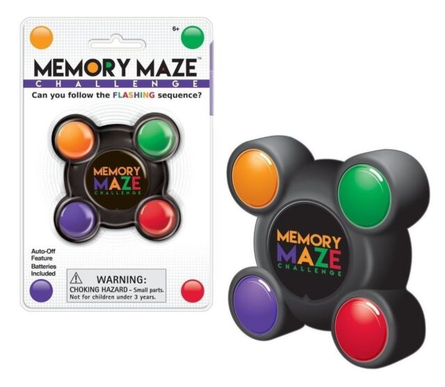 Memory Maze Sequence Challenge Children/'s Simon Says Copying Remembering Game