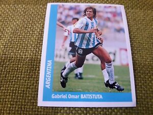 BATISTUTA-ARGENTINA-FIGURINA-DS-STICKERS-FRANCE-98-WORLD-CUP-new