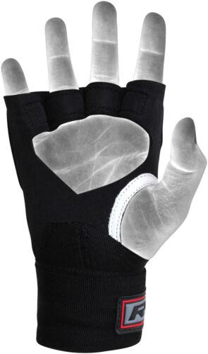 RDX MMA Grappling Gloves Boxing Wraps Punching Bag Muay Thai Inner X3 US
