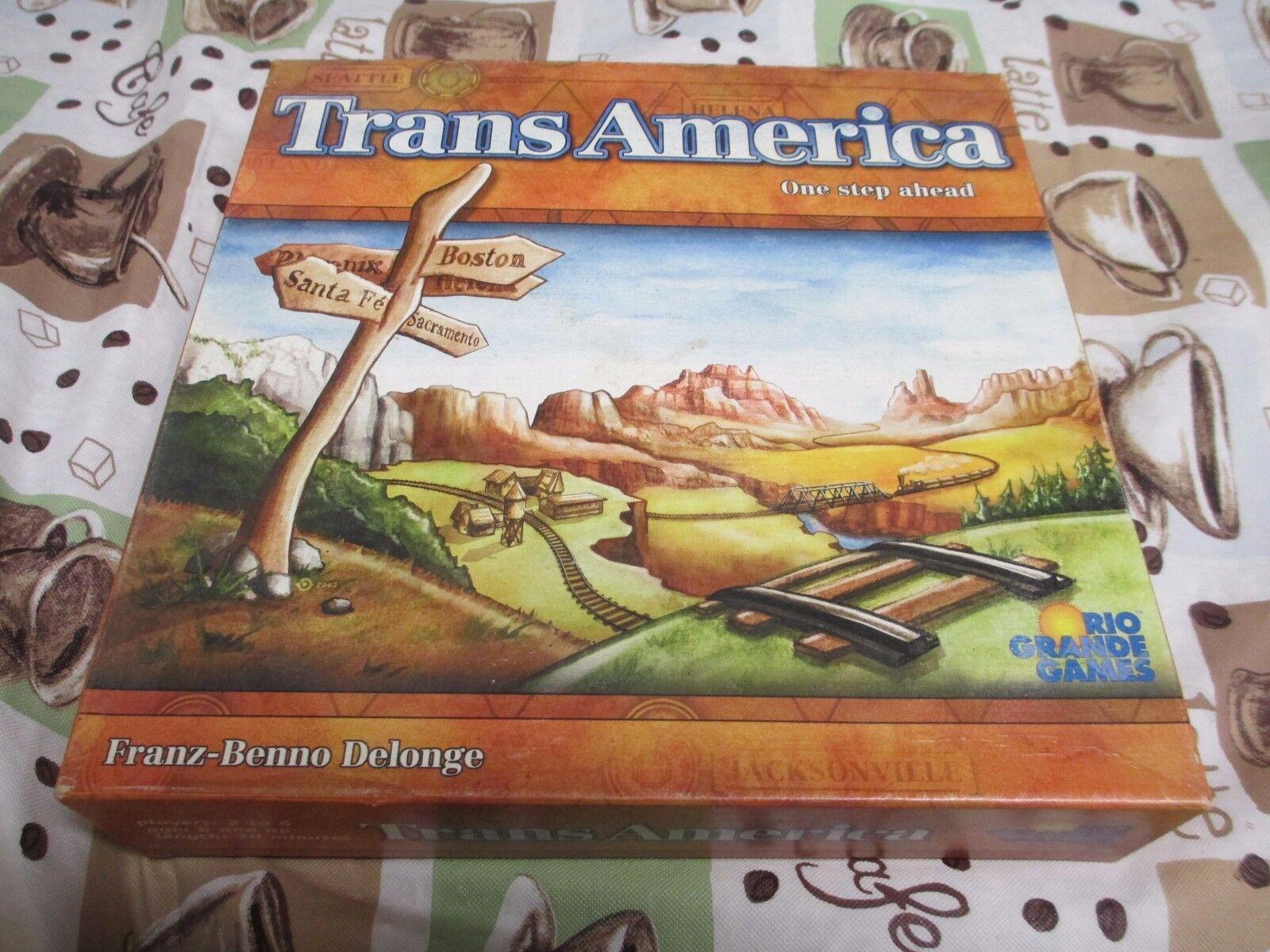 Rio grande brettspiel transamerica franz benno delonge winsome spiele 2002