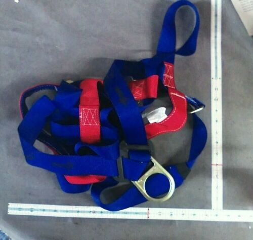 Safety Harness 1D Ring Fall Protection Full Body ANSI OSHA brand new