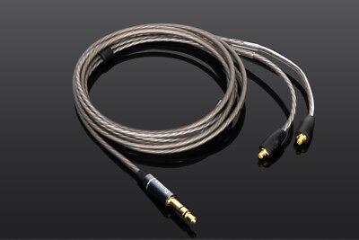 OCC Silver Plated Audio Cable For FiiO F5 F9 F9SE F9Pro FH1 FH5 FA7 FA1 FH7