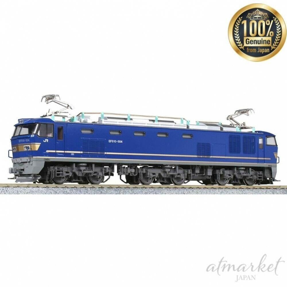 Kato Ancho de vía Ho Eléctrico Locomotora 1-315 Ho Ef510 500 Jr Cochega Azul