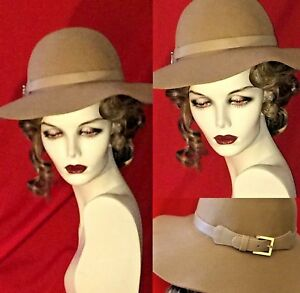4162a73310fb3 Image is loading SALE-20-OFF-FLOPPY-HAT-with-BUCKLED-BRIM-