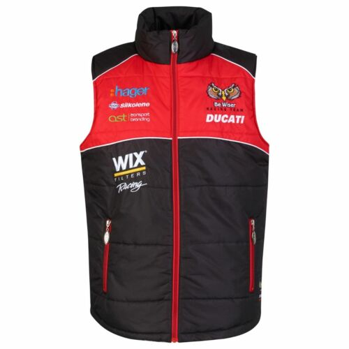 Official PBM Be Wiser Ducati Body Warmer 17PBM-BW Gilet