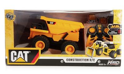 CAT Nikko Big Builder REMOTE CONTROL Lights /& Sound Dump Tipper Truck Christmas