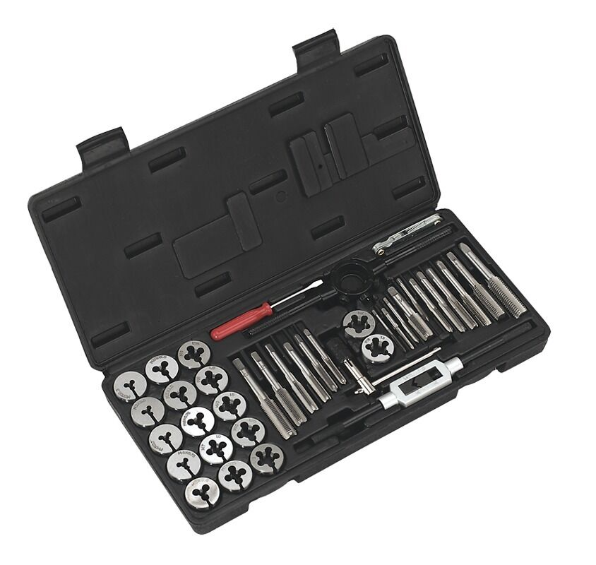 Sealey Tap & Die Set 40pc Split Dies Metric AK3012