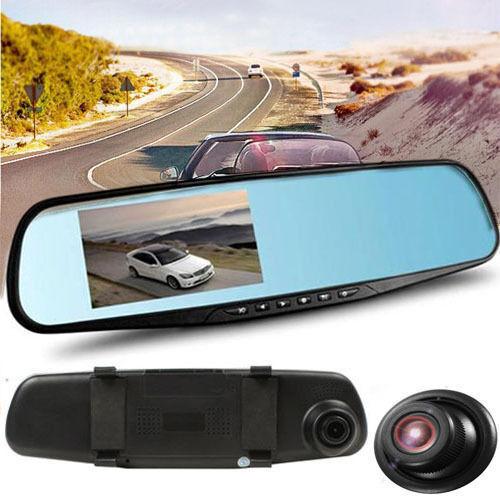 DVR AUTO SPECCHIETTO RETROVISORE FULL HD 1080P TELECAMERA VIDEOCAMERA PARCHEGGIO