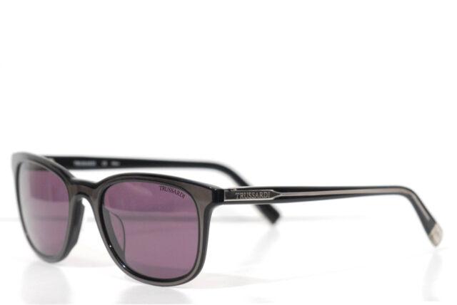TR 12829 BK Originale Sonnenbrille TRUSSARDI