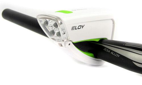 SIGMA ELOY 4 DEL phare frontale vélo lumière facile CLICK et aller Blanc